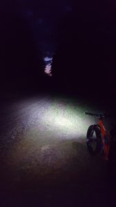 Night FATbike Guided Tour View