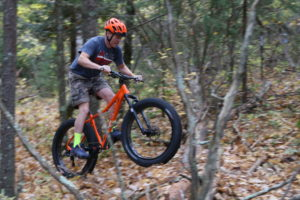FATbike action at our Home Trail