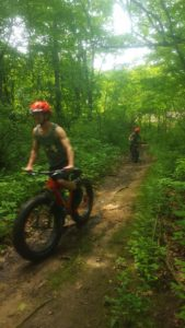 Mom and Son Fat Bike Guided Tour!