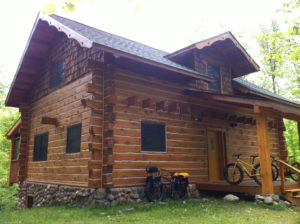 Fatbike from this Vacation Rental Cabin!